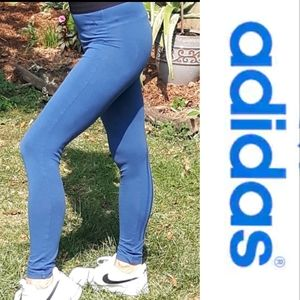 Size M Adidas stretchy running athletic pants